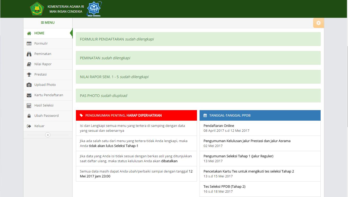 Ppdb Online Pariti Indonesia
